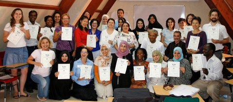 Global Connections Master Trainers Workshop in Morocco, 2009