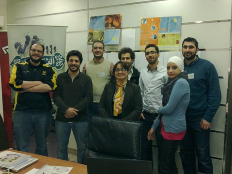 "In February 2011, iEARN-Jordan hosted a workshop for the ""Think Arabia Group,"" a network of young IT and Media Specialists in Jordan."
