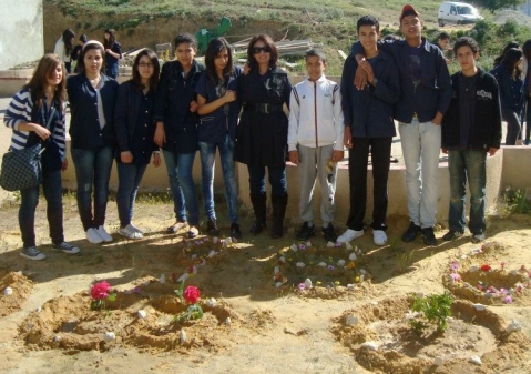 TEARN celebrates the Earth Day _ Nasr Intermediate School's' Action