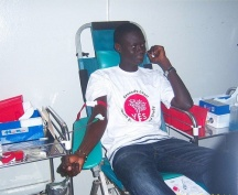 Blood banks YES Alumni in Senegal rose to the occassion and answered the call to action.