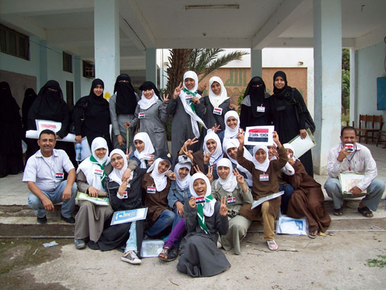iEARN-Yemen teams up with Save the Children on workshops in Aden and Lahj