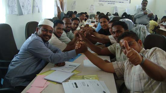 iEARN-Yemen completes series of workshops in Hadramout