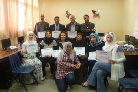 iEARN-UAE hosted a workshop for teachers in Abu Dhabi at Al Manhal International Private School on February 4th, 2012