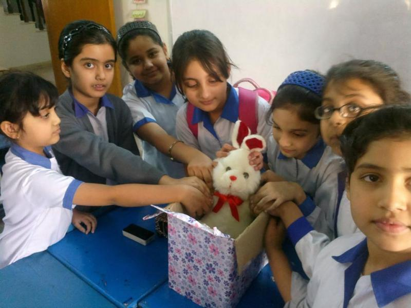 iEARN Teddy Bear Project - Pakistan