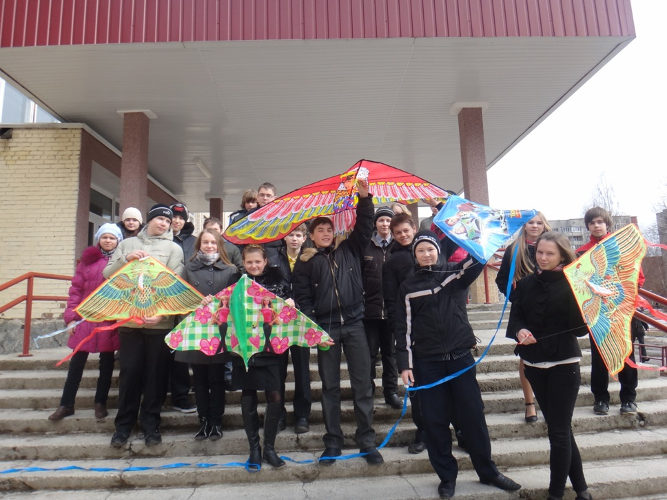 Talking Kites in Belarus