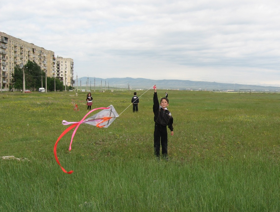 Talking Kites in Georgia