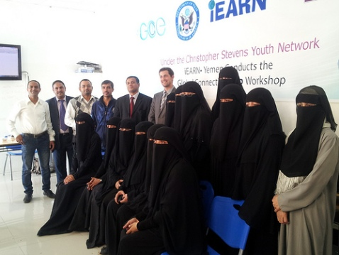 The first Christopher Stevens Youth Network Workshop in Yemen
