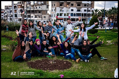 Christopher Stevens Youth Network Participants in Syria