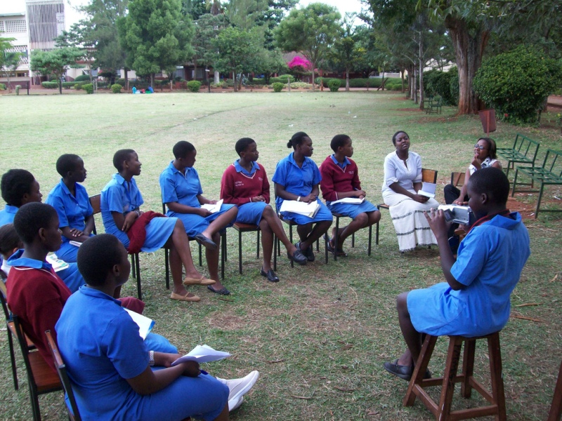 The Adobe Youth Voices learners of PMM Girls School