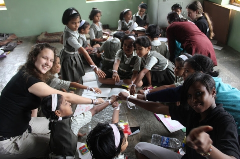 US High School Students in India Studying Hindi on the National Security Language Program for Youth (NSLI-Y)